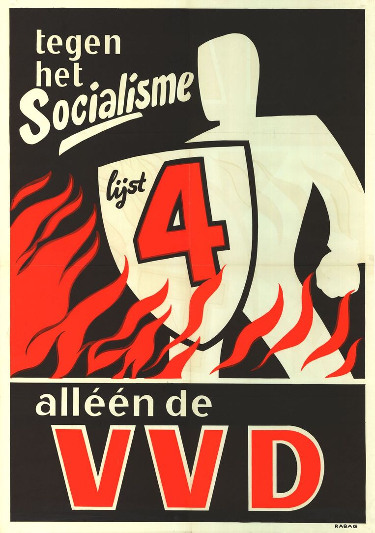 VVD-affiche 1959 Beeld