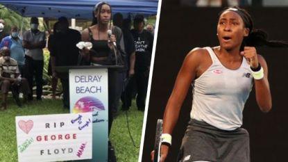 """Coco Gauff, de nieuwe ster in het tennis die zich ook opwerpt als rolmodel: """"Een visionair is in de maak"""""""