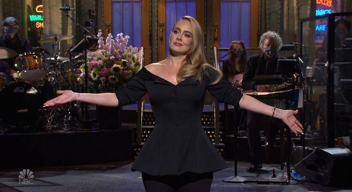 Adele in 'Saturday Night Live'