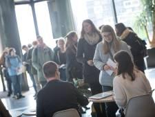 Studenten op Campus Wageningen in de rij om te stemmen