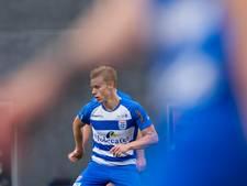 Rick Dekker, terug in de kleedkamer van PEC Zwolle