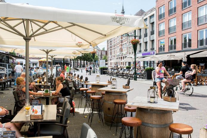 Terras op Van Coothplein Breda