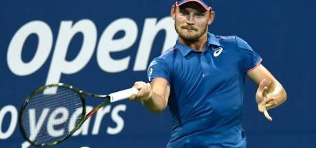 David Goffin recule d'une place au classement ATP