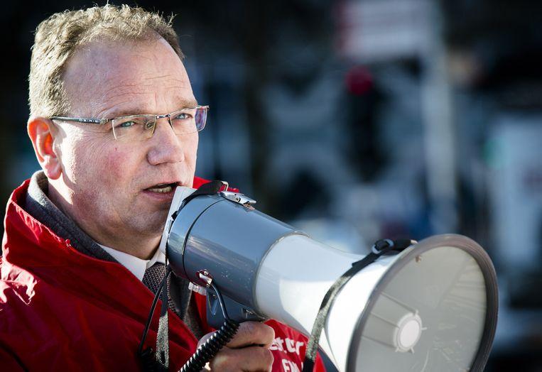 FNV-voorzitter Ton Heerts. Beeld anp