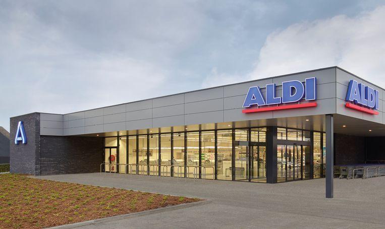 De vernieuwde ALDI in Berchem