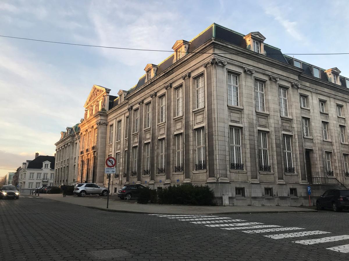 De rechtbank van Kortrijk