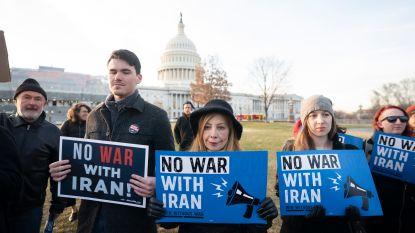 Afgevaardigden trachten Trumps militaire actie tegen Iran te beteugelen, veto van president verwacht