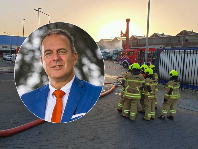 Burgemeester Jaap Paans wil dat grondig uitgezocht wordt welke stof de enorme stank in Alblasserdam veroorzaakte.
