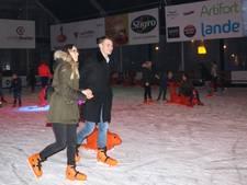 Lekker glibberen of romantisch schaatsen bij Veghel on Ice