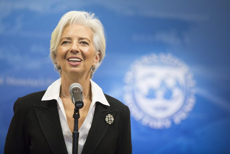 IMF-directeur Christine Lagarde. Beeld epa