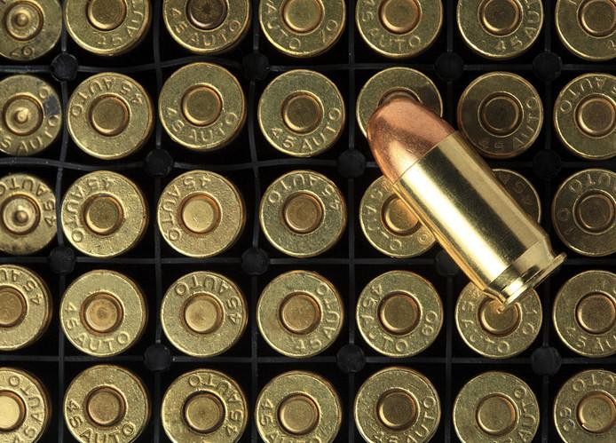 Bij doorzoekingen werden verschillende soorten munitie ontdekt. Foto ter illustratie.