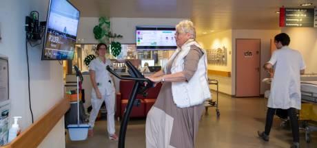 Enkelband controleert patiënten ziekenhuis Ede: bewegen ze genoeg, te veel of te weinig?