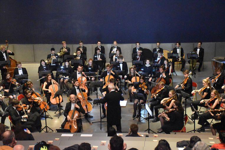 Het Universitair Symfonisch Orkest van de Katholieke Universiteit van Leuven bracht werk van Servais in Parijs.
