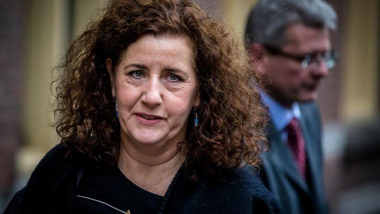 Minister Ingrid van Engelshoven van Onderwijs verzekert dat het in het vervolg anders zal gaan. Beeld anp
