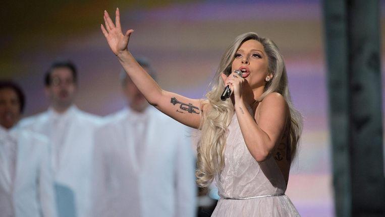 Lady Gaga in 2015. Beeld epa