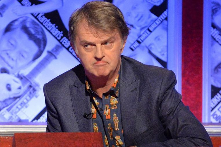 Paul Merton in Have I got news for you. Beeld