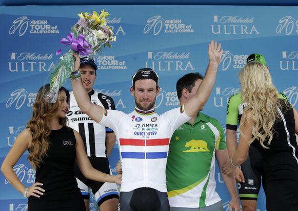 De elitegroep werd uiteindelijk teruggefloten waarna Cavendish het toch afmaakte in een sprint