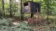 Mysterie in het Vrijbos: wie bouwde deze boomhut?