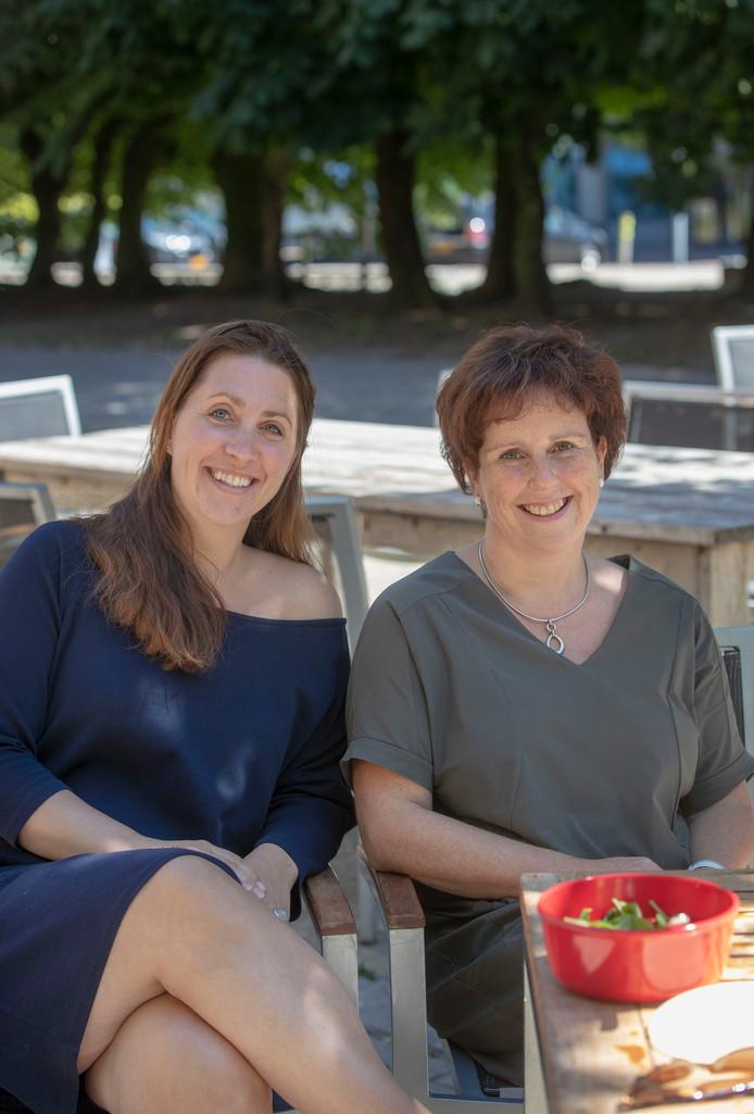 Sanne van de Visch (links) en Erica van Hunen