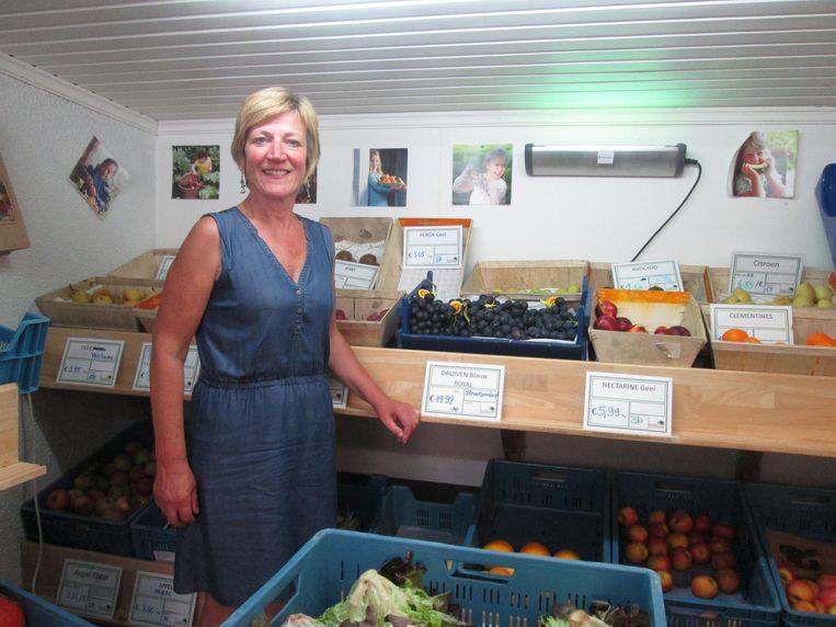 Kathelijne is de nieuwe verantwoordelijke van biowinkel in den Diepen Boomgaard.