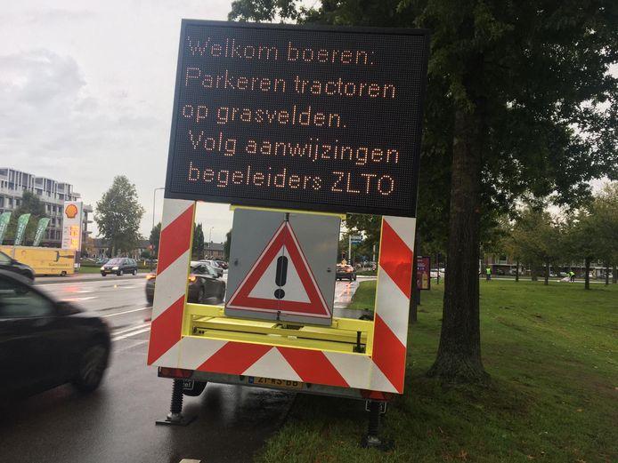 Boeren welkom in Den Bosch.