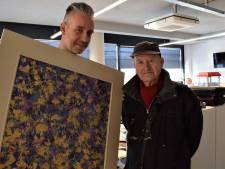 Jan (89) leest al 80 jaar de krant en schildert cadeau voor de Gelderlander