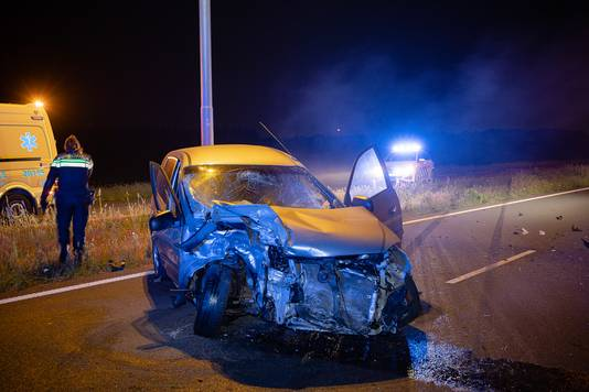Ongeval Burgemeester Letschertweg Tilburg