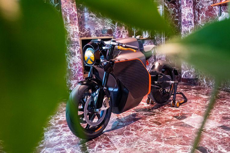 De elektrische superbike van Saroléa
