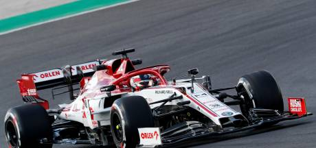 Räikkönen en Giovinazzi langer door bij Alfa Romeo