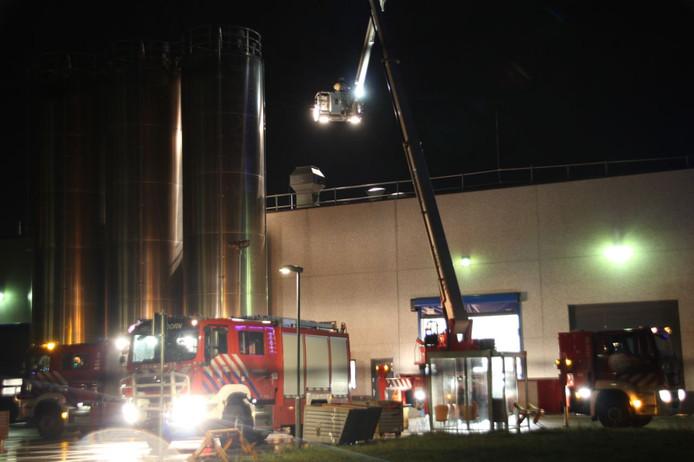 Industriebrand bij Addcomp Holland