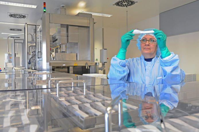 Productie van MSD op de locatie Moleneind in Oss.