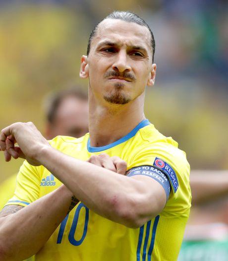 Zlatan om de tafel met Zweedse bondscoach over rentree