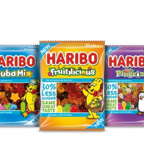 HARIBO introduceert minder zoet snoep