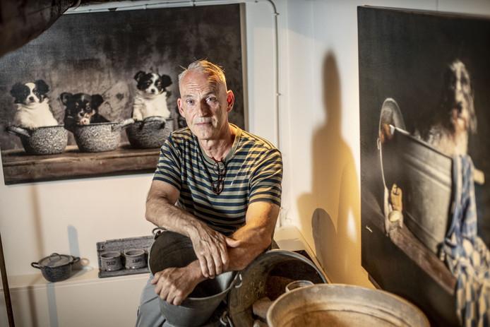 Kunstenaar Jan Gerber uit Goor exposeert in het Bussemakerhuis.