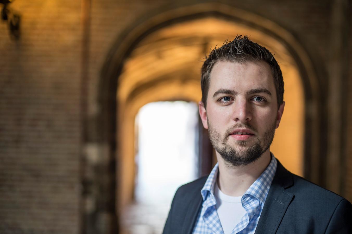 Michael van Oostende. foto Mechteld Jansen