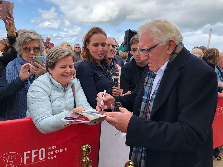 Jan Decleir op Filmfestival Oostende