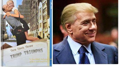 Treffende gelijkenissen: Italianen lachen met #Trumpusconi