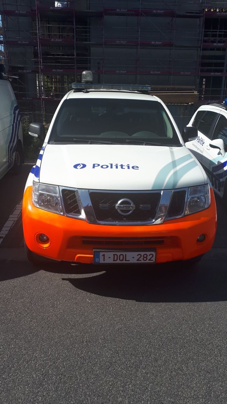 Politie Geraardsbergen/Lierde kwam ter plaatse.