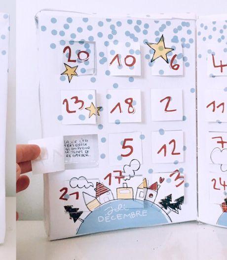 Un calendrier de l'Avent gourmand, drôle et 100% liégeois par Carré Noir