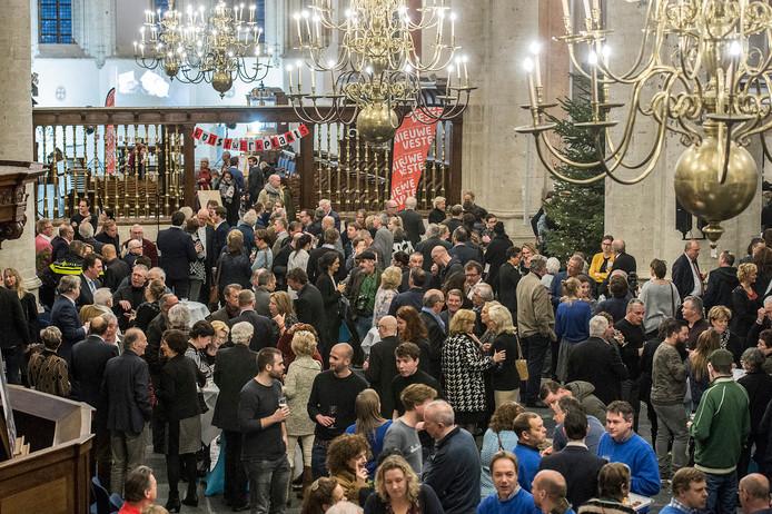 breda-foto : ron magielse nieuwjaarsreceptie in grote kerk