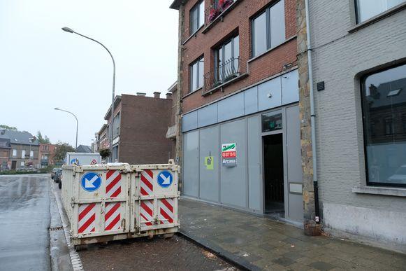 Het voormalige ING-kantoor in de Emile Vanderveldelaan.