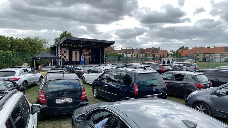 Proclamatie drive-in Brugge KTA.