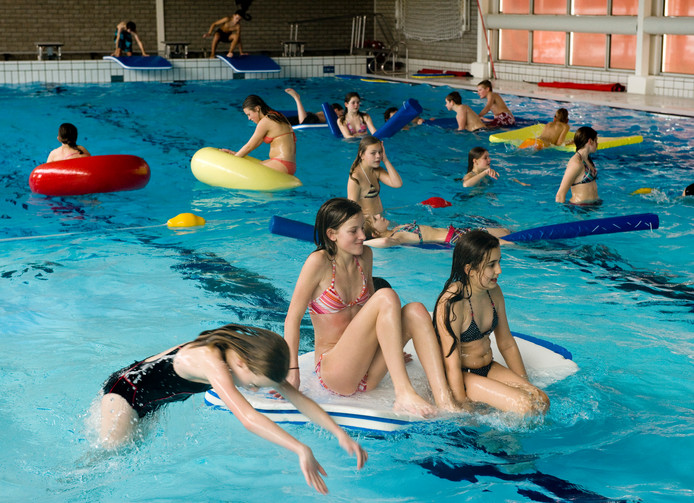 Archieffoto van het zwembad in Zeewolde.