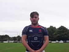 Rugbyer Noah de Wild met Oranje onder 20 naar EK