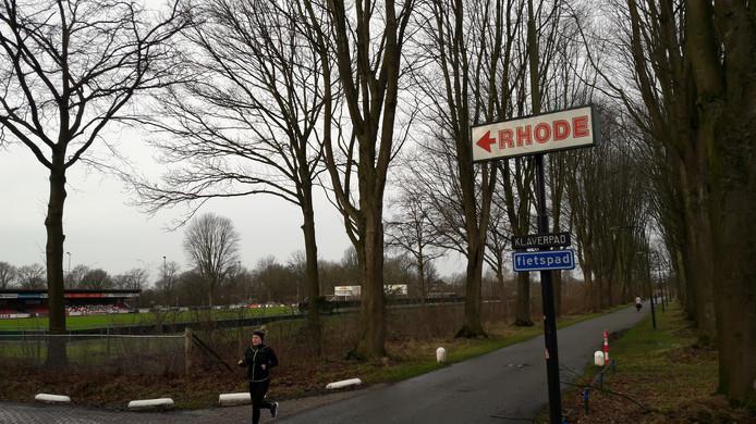 Rhode kampt nu en dan met wateroverlast op het terrein langs de Dommel.