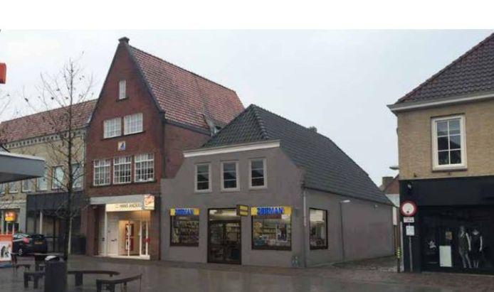 Voorbeeld van hoe het winkelpand van Zeeman aan de Rechterstraat in Boxtel er ook kan uitzien.