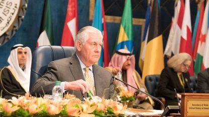"""Tillerson waarschuwt: """"IS nog niet verslagen"""""""
