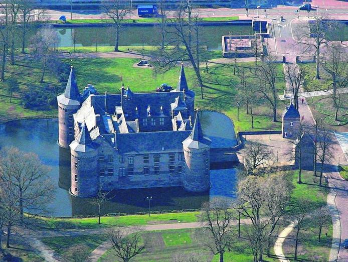 Het kasteel in Helmond. foto Ronald Otter