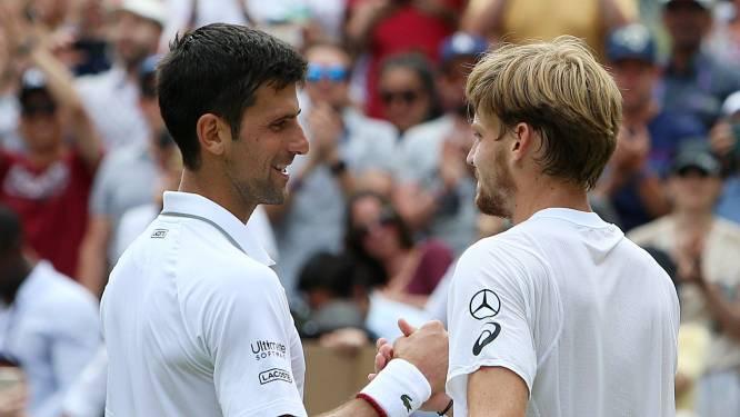 """Ondanks sterk begin gaat Goffin na drie sets de boot in tegen Djokovic: """"Had ook anders kunnen aflopen"""""""