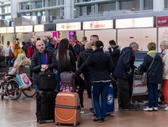 Vrijdag meer dan 75.000 passagiers in Brussels Airport